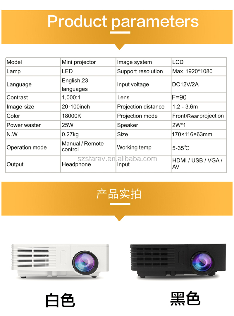 Christmas gift Wholesale shenzhen factory mobile phone with built in projector 600 Lumens support 1080 P OWLENZ SD20 mini beamer