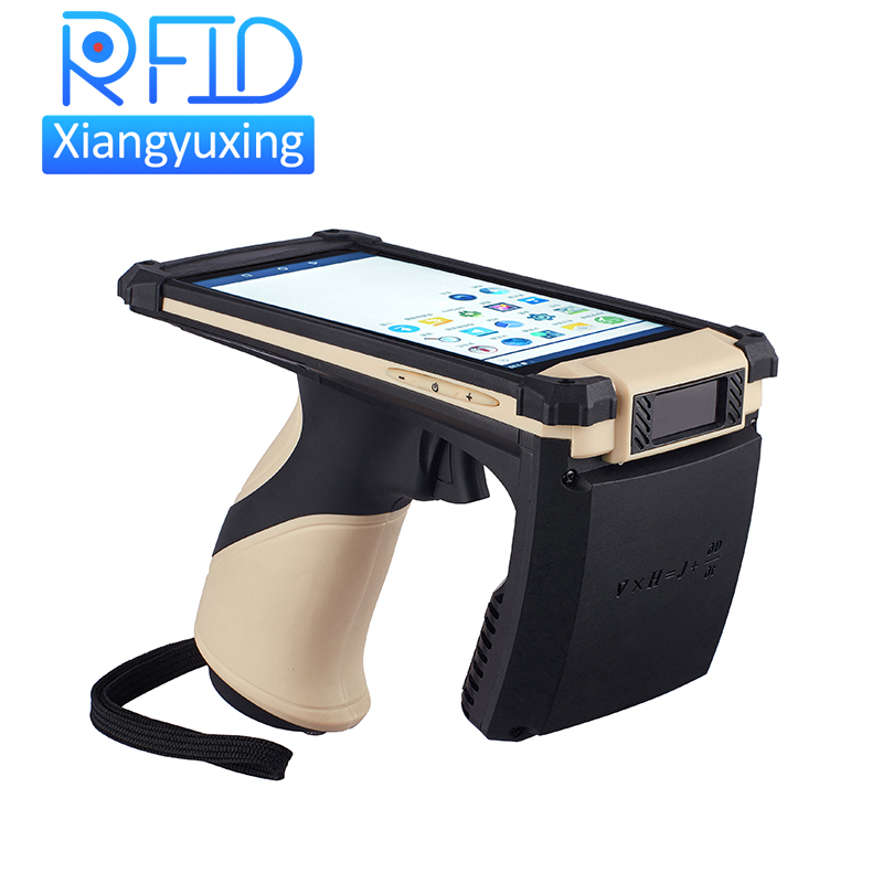 Data Collection Terminal WIFI Bluetooth Android Handheld Lange Afstand UHF RFID Reader