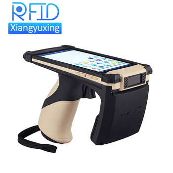 Data Collection Terminal WIFI Bluetooth Android Handheld Long Range UHF RFID Reader
