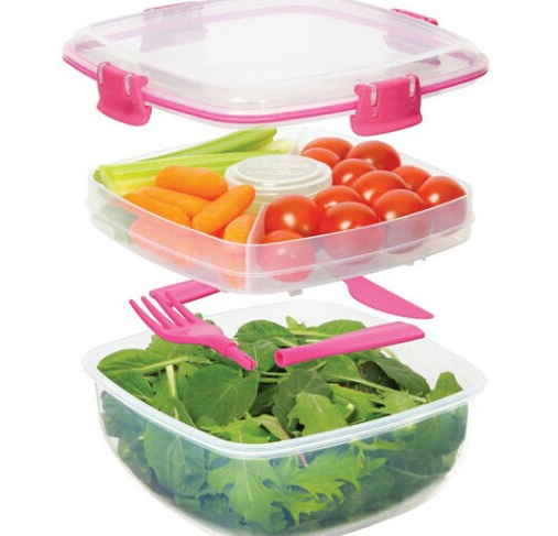 Supply fashion plastic lunch box/food storage box