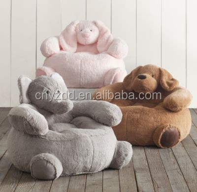 Delightful Kids Plush Chairs/ Home Decoration Kids Plush Chair/ Plush Animal Sofa Chair