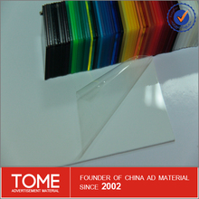1mm clear acrylic sheets/pmma plastics color/foam packing materials