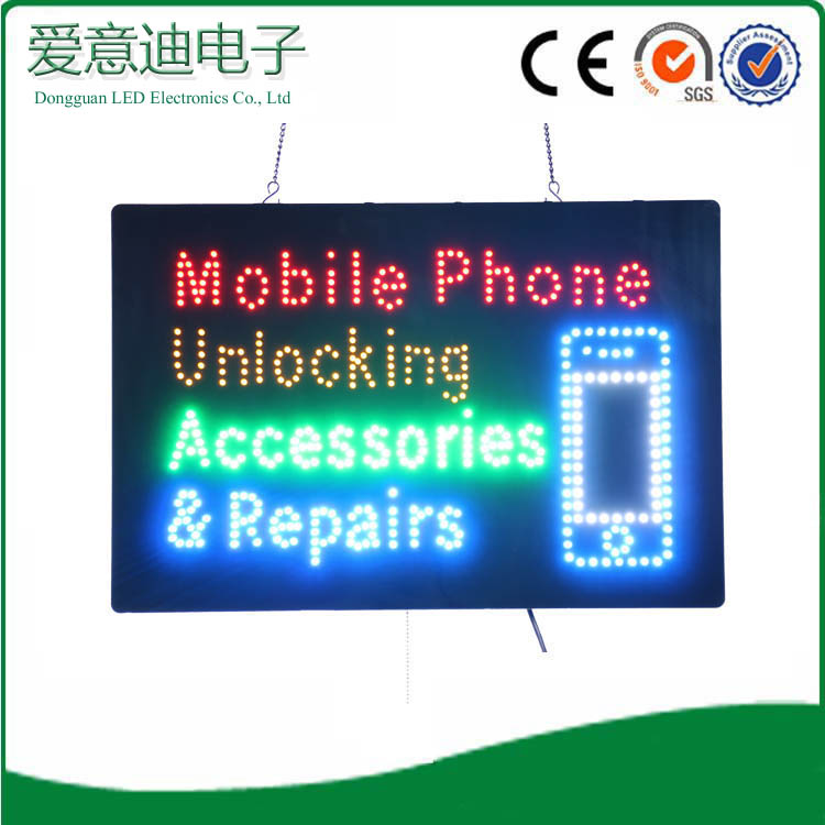 2016 Hot Sale New Design Flashing Acrylic Shop Name Business Mobile Phone  Repair Indoor Use Led Letter Sign Factory - Buy Acrylic Indoor Use Led