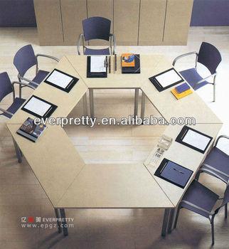 Modular Staff Hexagon Meeting Conference Table Buy Hexagon - Hexagon conference table