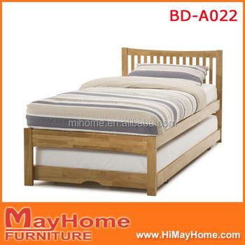New design furniture bedroom double deck bed buy new for Double deck bed design