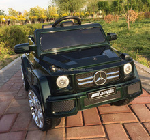 cheap black licensed benz suv electric car for kid to drive safty Plastic PP kid toy car