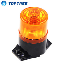 Alarm System Revolving Warning Rotating Beacon Lights Emergency Red Warning Light Without Buzzer Free Shipping