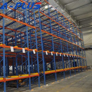 Nanjing High Quality Warehouse Storage gravity roller rack carton flow shelving directly from China
