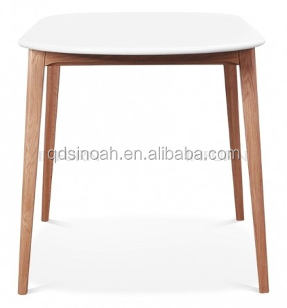 China mainland Sinoah solid oak wooden Dining Table stock discount for dining room(MO-2)