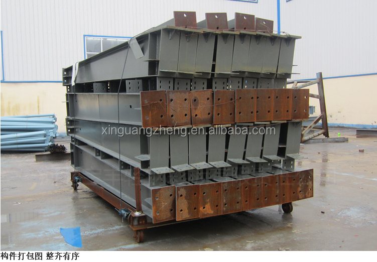 modern factory building steel structure pre engineering warehouse
