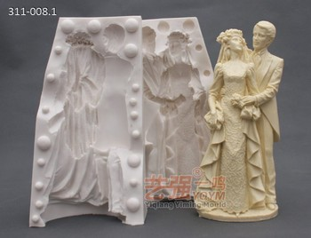 wedding cake topper moulds wedding cake toppers and groom silicone chocolate 26362