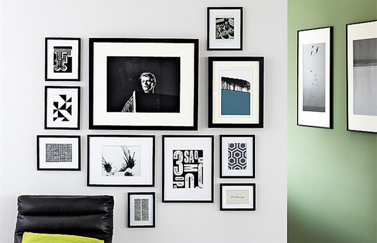 Picture Photo Frames Wall Tv Wall With Multi Photo Frames