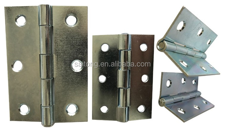 zinc plated small Iron Hinge for the Door- lift up hinge
