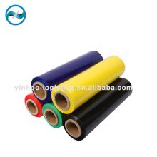 Kustom Warna multicolor plastik LLDPE peregangan & shrink wrap film