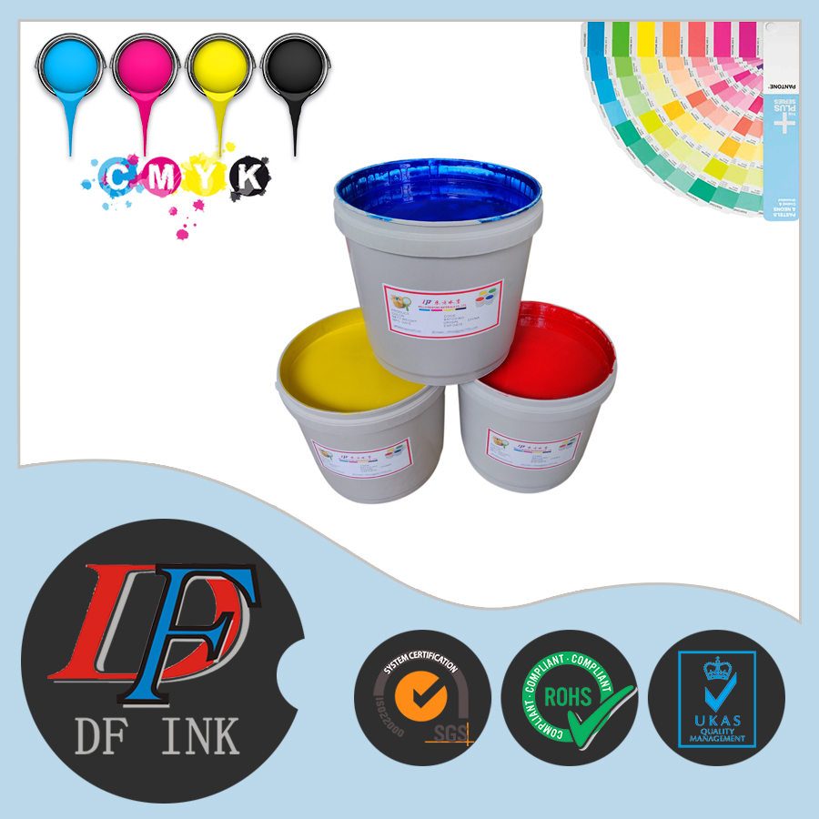 abrasive resistance water based printing ink for coating paper