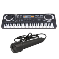 musical instrument electronic organ kids piano keyboard toys with microphone