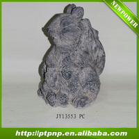 Magnesium oxide animal statue outdoor garden decoration for sale