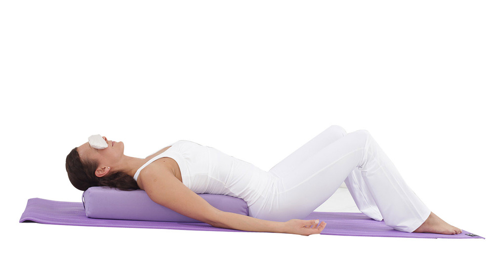 Organic Pu Batting Yoga Bolster Pillow With Cover Buy