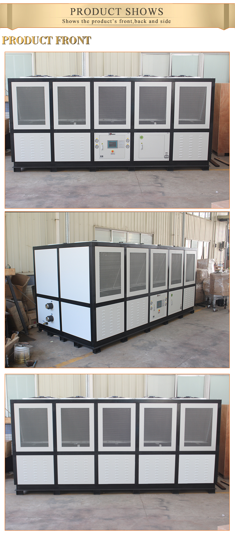 china manufacturer supplier low price water cooling chiller system unit injection extruder air cooled industrial chiller
