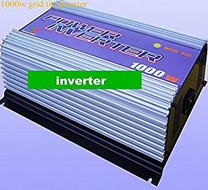 GOWE 1kw /1000w wind grid tie inverter build in controller 3phase input AC 10.8V-30V output.AC 90V-140V,190V-260V
