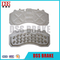 back plate of brake pad wva29016/29042/29087