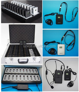 WUS069 Wireless Tour Guide System Long range transceiver for tourist agency