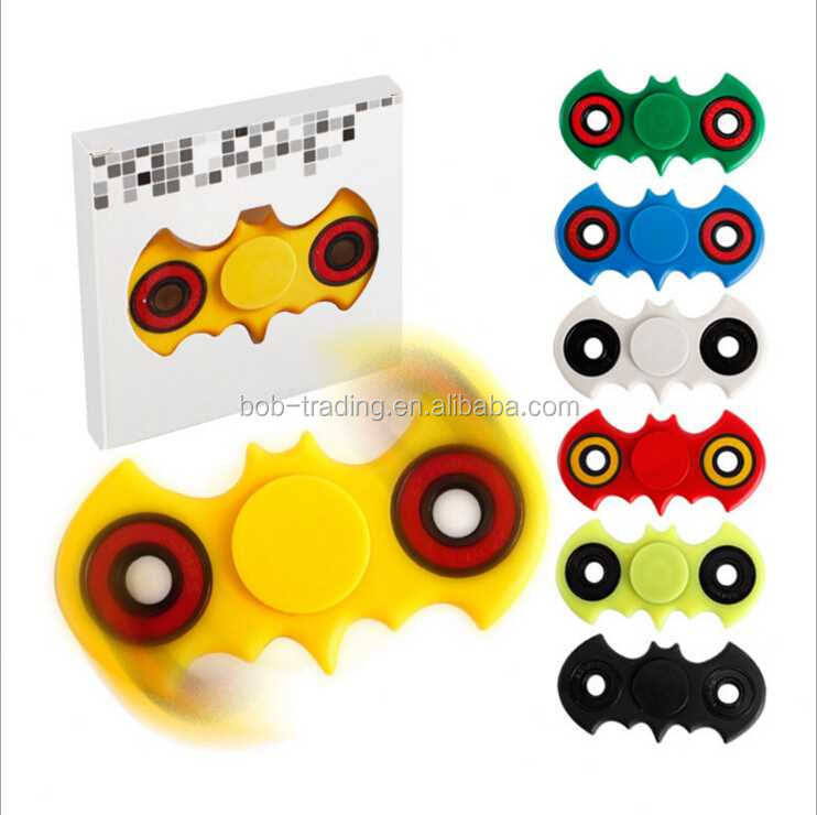 design NO.1 Promotion Gift Bat Shape Hand Spinner relieve stress toy