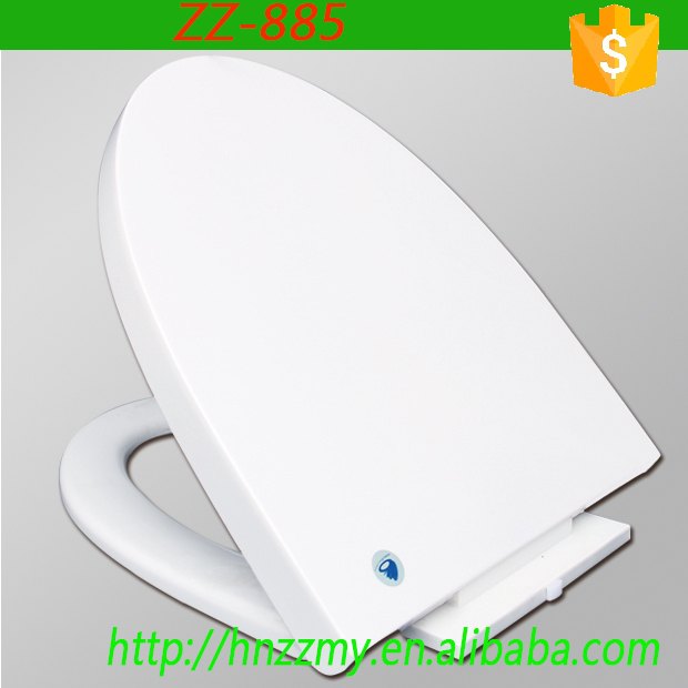 ZZ-885 Custom made self cleaning led toilet seat cover rubber toilet seat