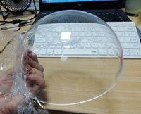 Lots of stock transparent large acrylic sphere 400mm diameter acrylic ball