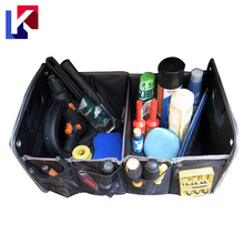 Foldable portable car storage box auto storag trunk cargo organizer