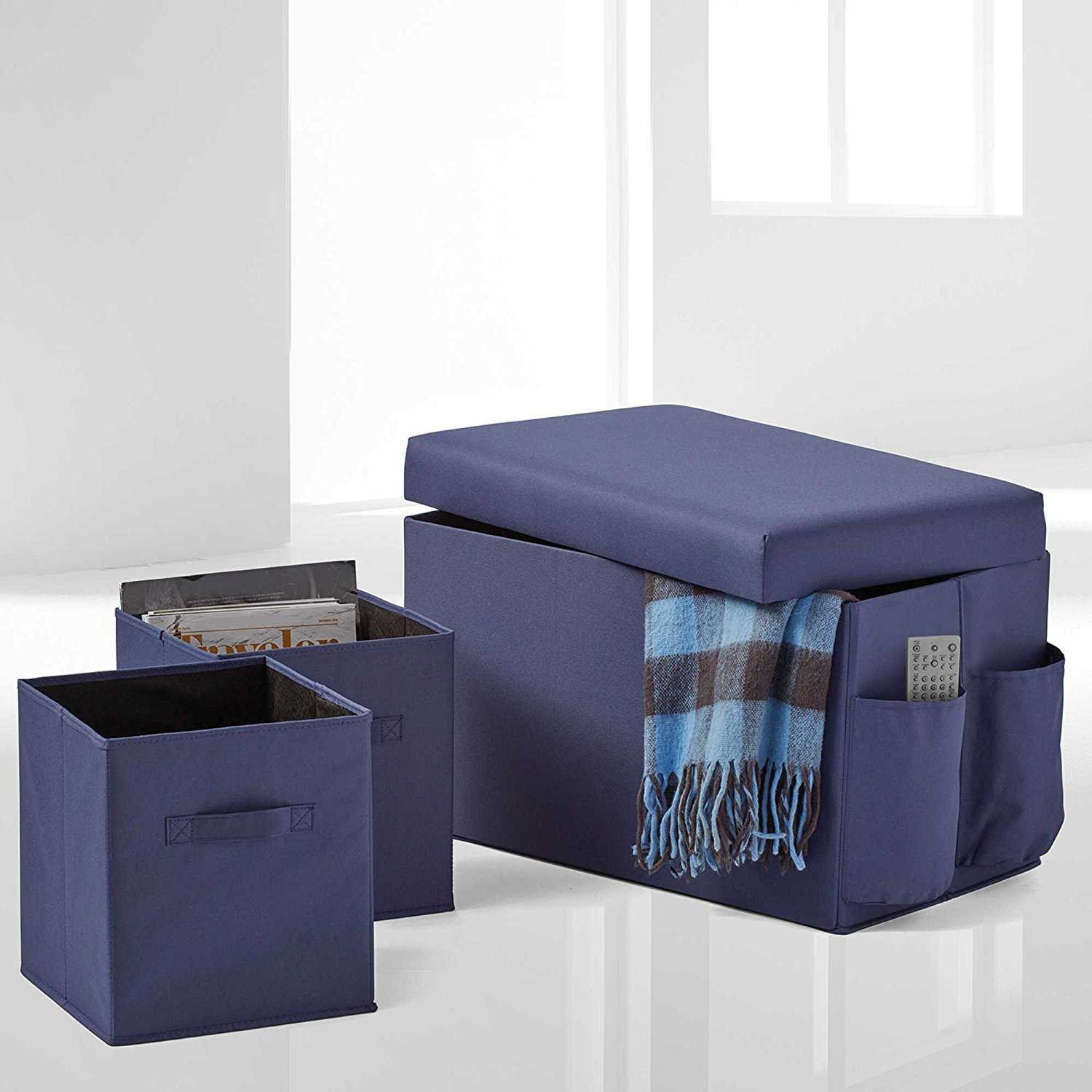 Groovy Buy Storage Cubes Portable Storage Storage Ottoman Cube Alphanode Cool Chair Designs And Ideas Alphanodeonline