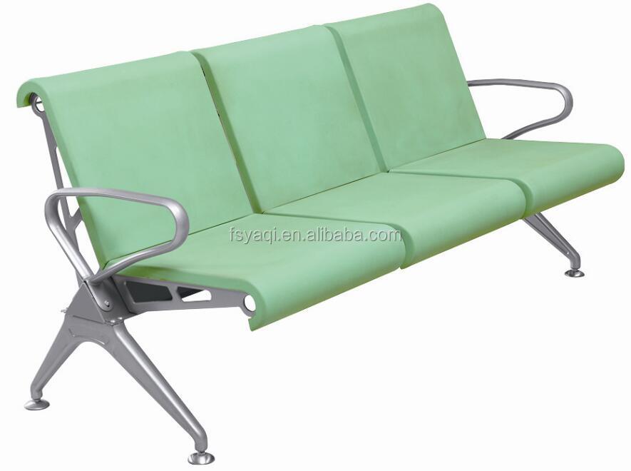 3 Seats Molded Foam Cushion Price Airport Waiting Chair YA 35PC