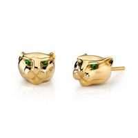 Handmade Jewelry Manufacturer Gold Earrings Cz Stud Earring