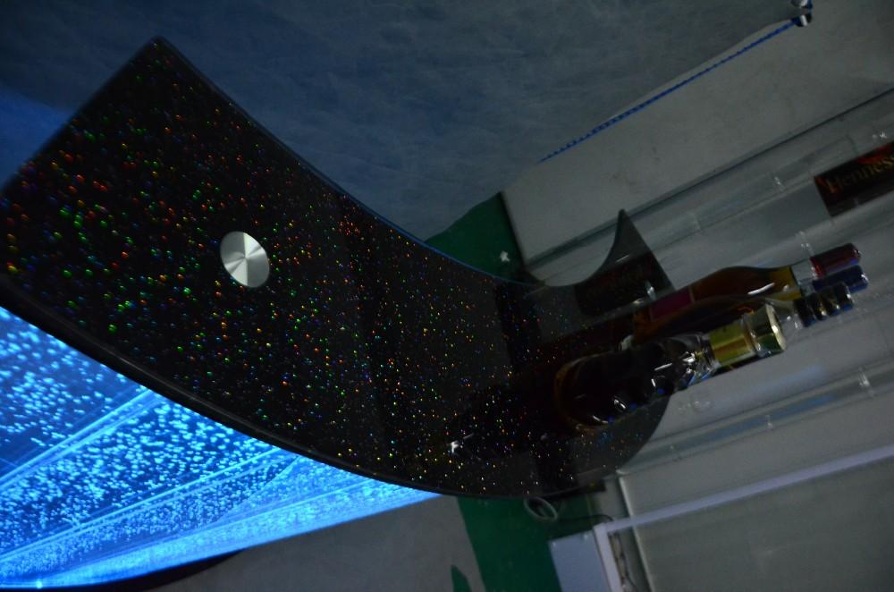Dj cocktail bar pub utilizzato dj contatore con illuminazione a led