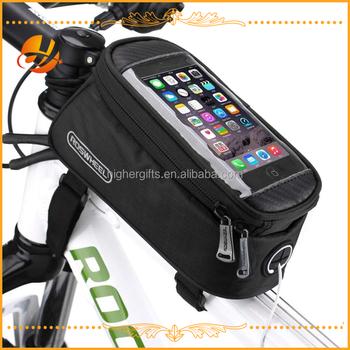 Waterproof Mobile Holder Bike Saddle Bag Bicycle Front Frame Transport