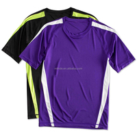China Import Cheap Custom Fashion New Design Tee Shirts Sports Athletic Colorblock Performance T Shirt Manufacturer Companies