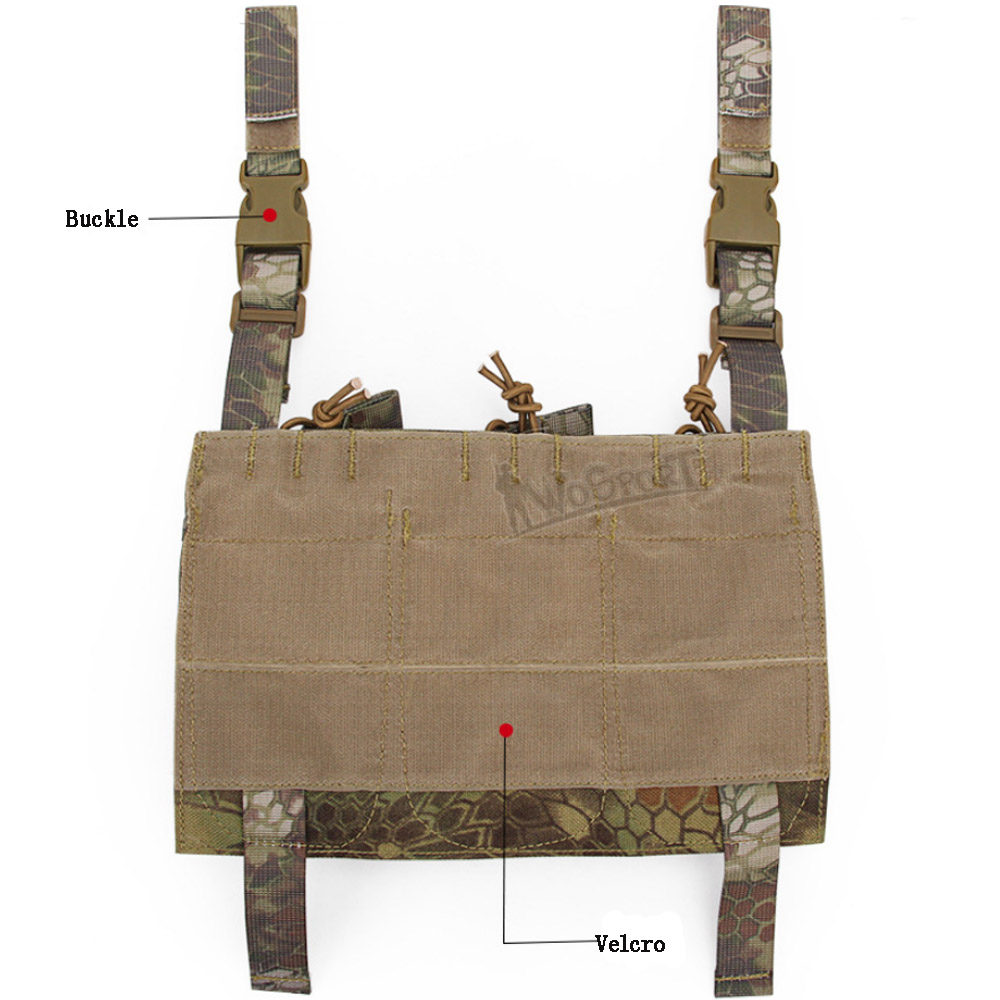Wholesale Multi-function Molle Pouch Tactical Small Tool Bags Accessories Army Tactical Pouch Triple Magazine Pouch
