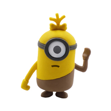 Promotionele leuke gift cartoon minions 3D eraser voor Kid