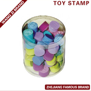 decorative rolling toy eva rubber stamp with high quality