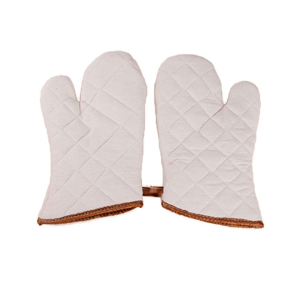 2ENE3 Natural CONDOR Polyester//Cotton Heat Resistant Glove,Natural,One Size