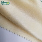 Natural Breathable Safe 32gsm Banana Fiber Fabric / Spunlace Nonwoven Fabric for Face Mask