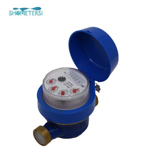 dry-dial wet-dial mechanism brass body single jet water meter parts