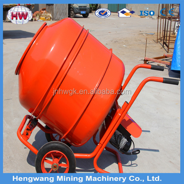 2016 new type hand push Mini Concrete Mixer for room building