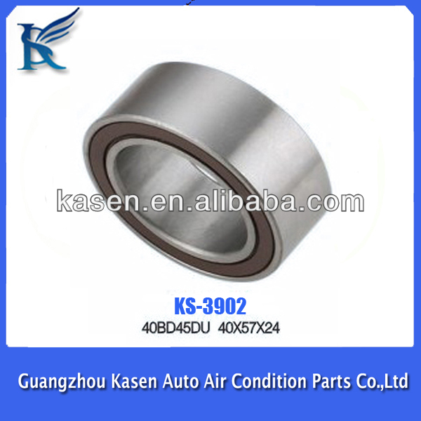 Auto Air Conditioner Magnetic Clutch Pulley Bearing 40*57*24mm ...