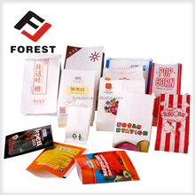 good grade POPCORN Exported French fries / KFC french fries packing / V bottom paper bag