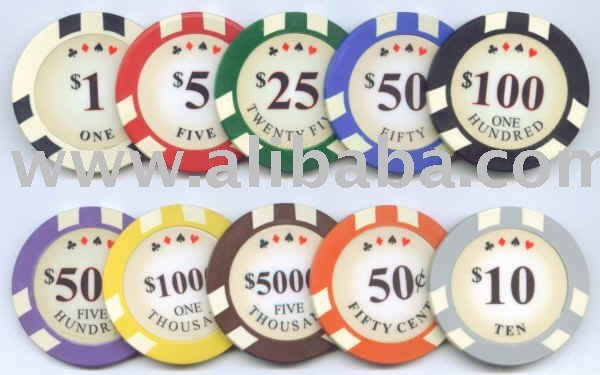 Clay Custom Poker Chips