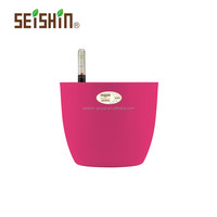 Beautiful Self-watering Fancy Plastic Flower Pots Wholesale