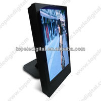 15inch wall mounting table desktop wifi 3g lcd monitor with built in computer