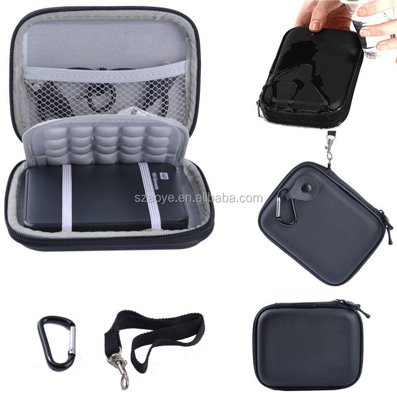 EVA Shockproof Carrying Case Pouch Bag for 2.5 Inch Portable Western Digital Hard Drive Disk