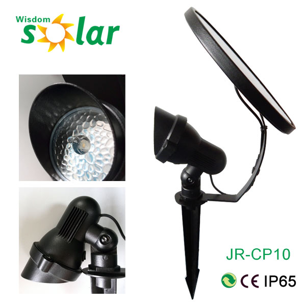 Unique Design Outdoor Ground Insert Led Solar Spot Lawn Light Jr ...
